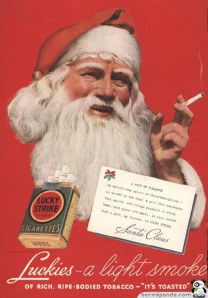 vintage-lucky-strikes-santa